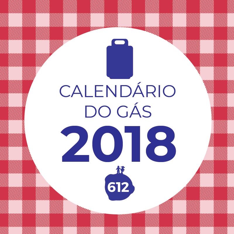 """612 Comunicação lança o """"Calendário do Gás"""""""