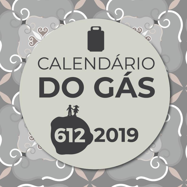 Calendários do Gás 2019 da 612 Comunicação